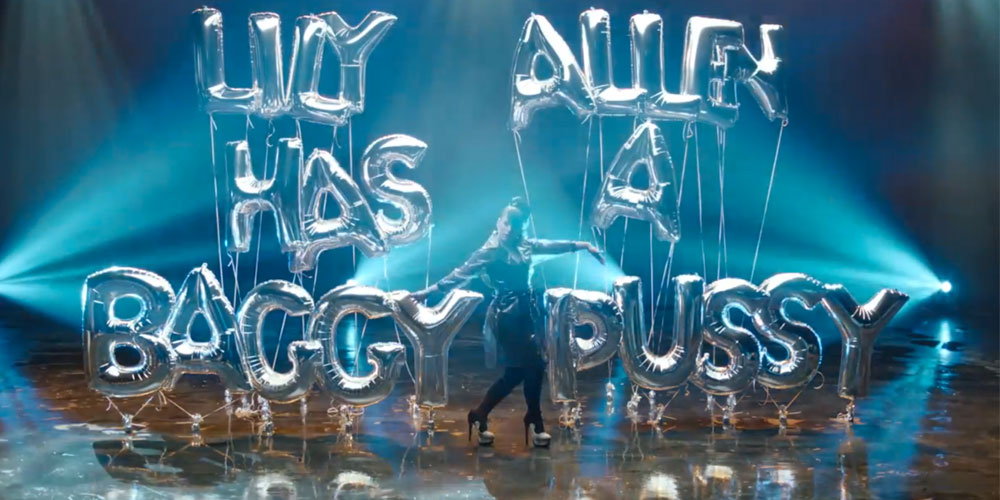 ¡VUELVE LILY ALLEN! Hard Out Here (for a bitch)